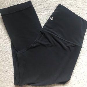 Size 8 Capri Align legging and size 8 stripe Top